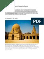 Egypt Tourism to Visit