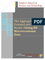Aggregate Demand and Supply Model