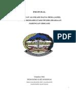 Proposal Irigasi Docx