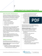Preventative Maintenance Final