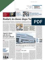 Agorà vince ma dovrà trovare alleati - Il Messaggero del 24 ottobre 2014