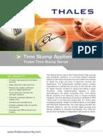 Time Stamp Server Datasheet_2012