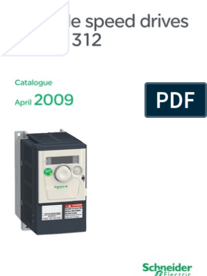 Schneider Electric - ATV 312 Drive Catalog | Bluetooth | Machines