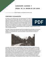 Chile, Colonización Alemana y Propiedad Indígena en la Región de Los Lagos