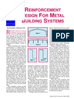 Metal Building Systems-Reinforcement Design
