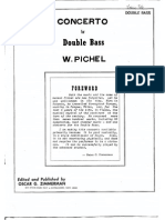 Wenzel Pichl - Concerto for Double Bass (Zimmerman)