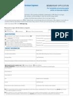 New Member Form 2013