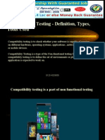 Compatibility Testing Types and Tools Used