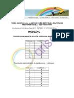 Corrector Directores Modelo c 2014 Arisoft