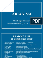 Introduduction to Arianism