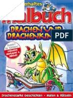 Mein Zauberhaftes Malbuch - Drachen Und Drachenkinder