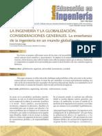 2. La Ingeniería y La Globalización.