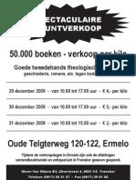 Advertentie Boekenverkoop Ermelo