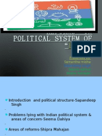 Reforms in Political System Of