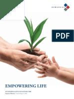 Annual Report PT Dharma Satya Nusantara Tbk 2013