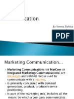 Marketing Communication 1