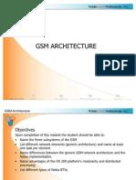 GSM Architecture