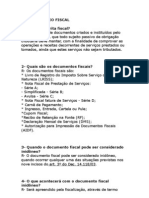 DOCUMENTÁRIO FISCAL