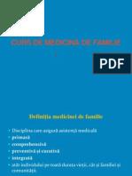 Curs de Medicina de Familie 1.