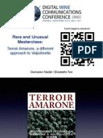 Terroir Amarone DWCC 2014 Masterclass