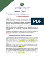 1ª Lista - Cinemática Unidimensional.pdf