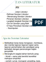 Sorotan Literatur Presentation Cti