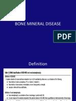 Bone mineral disease