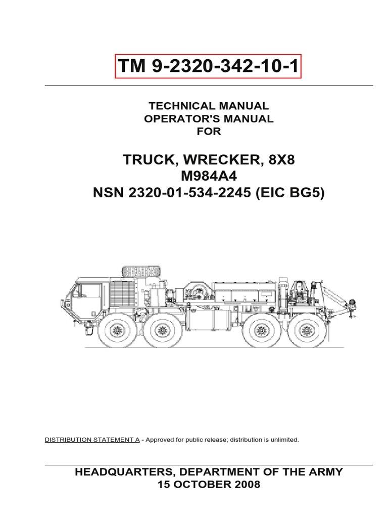 tm 9 2320 342 10 1 crane machine tire rh scribd com M1083A1P2 M1078a1p2