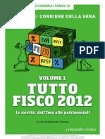 Tutto Fisco 2012 Le Novità