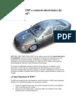 Qué es el ESP(VDC) o control electrónico de estabilidad.doc