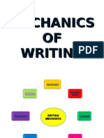 Mechanics of Writing