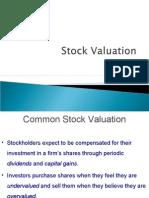 7 Stock Valuation