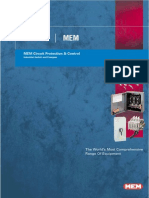 Eaton MEM Circuit Protection & Control Switch & Fusegear Technical