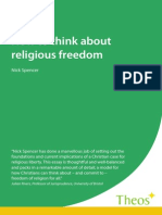 How to think about religious freedom