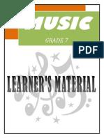 Music Module for Grade 7