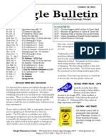 Beagle Elementary School Newsletter Oct 24 2014