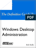Windows Desktop Administration