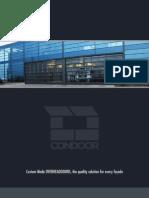 Broschyr Condoor Industriportar