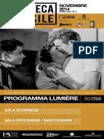 Cineteca - Novembre 2014