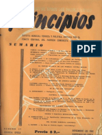 PRINCIPIOS N°17 - NOVIEMBRE DE 1942 - PARTIDO COMUNISTA DE CHILE