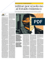 El Poder Militar Por Sí Solo No Derrotará Al Estado Islámico
