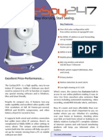 EyeSpy247F WiFi IP Camera Datasheet