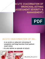 Acute Exacerbation of Bronchial Asthma