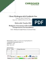 Methanol Catalyst Poisons - A Literature Study (CCS)