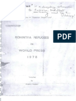 Evidence of Myanmar's official Rohingya genocide as told by world press clipping from 1978