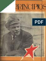 PRINCIPIOS N°31 - ENERO DE 1944 - PARTIDO COMUNISTA DE CHILE