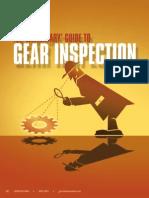 Gear Inspection Technique