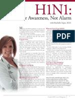 A Cause for Awareness, Not Alarm