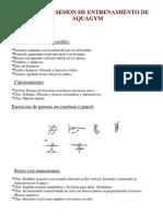 PRIMERA SESION DE ENTRENAMIENTO DE AQUAGYM.docx