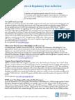 2014 Legislative Regulatory Review